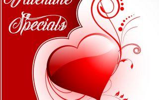 Be My Valentine Specials